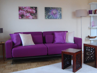 Holiday flat: The living room